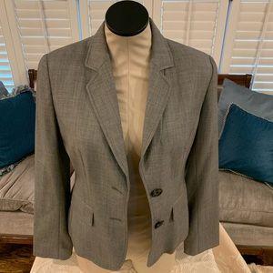 Banana Republic grey suit jacket size 6